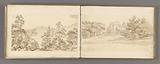 Sketchbook of views of Rome and its environs