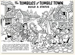The Tumblies of Tumble Town