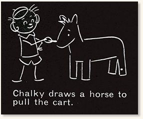 Chalky the Blackboard Boy