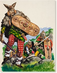 Celtic warriors by Peter Jackson