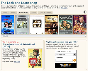 The Look and Learn shop